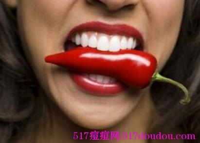 吃辣椒会长痘痘吗?为何一吃辣就长痘?